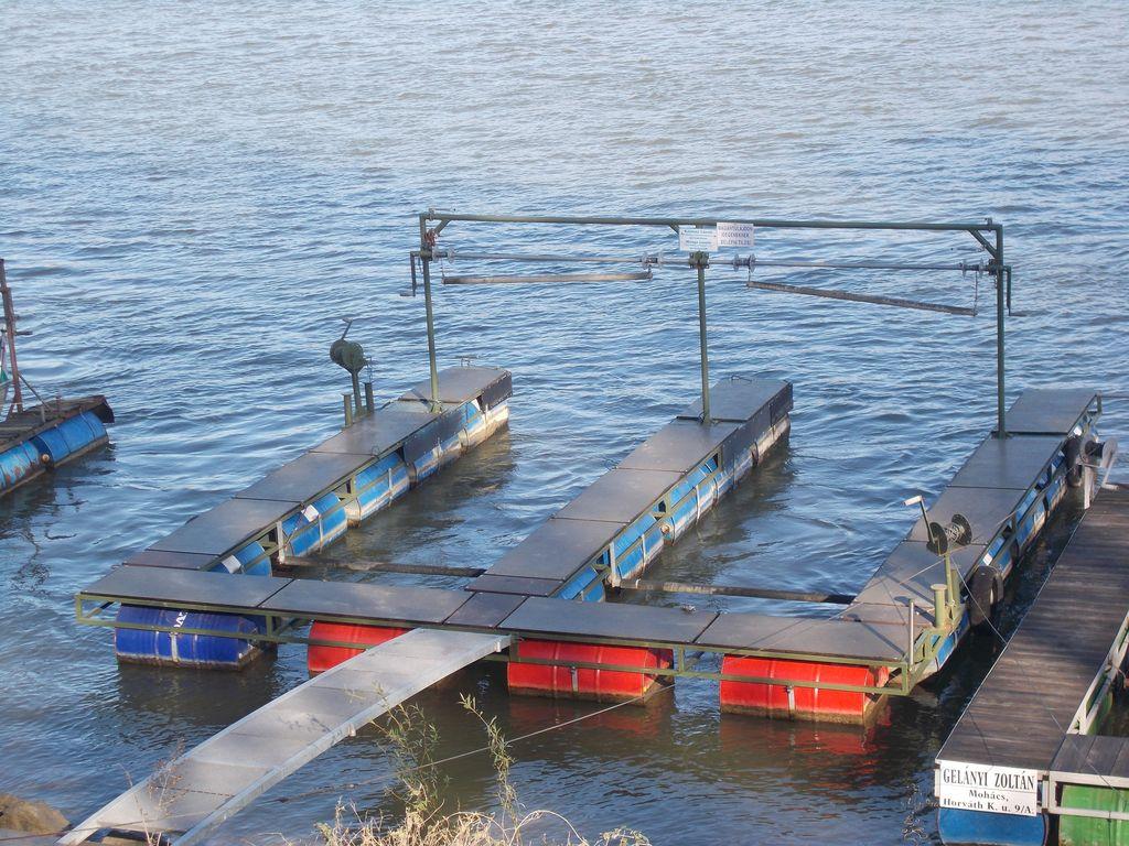 csónak pontonok készítése
