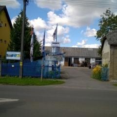 kaloczy kft bejárati kapu